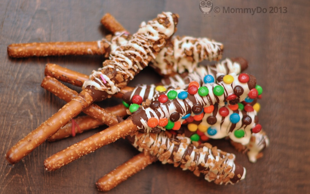 "MommyDo ""Holiday Hang Over"" Pretzels"