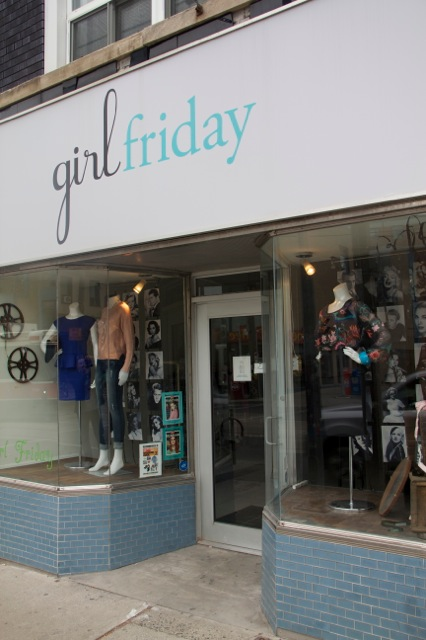 Girl Friday Store Front
