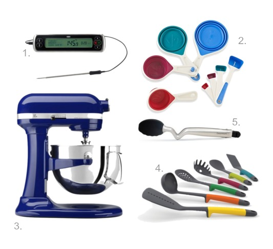 5 Faves Friday Kitchen Gadgets KitchenAid, OXO, JosephJoseph, Chef'n and dreamfarm